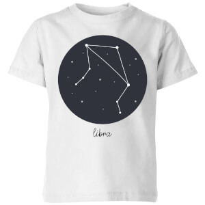 Libra Kids' T-Shirt - White