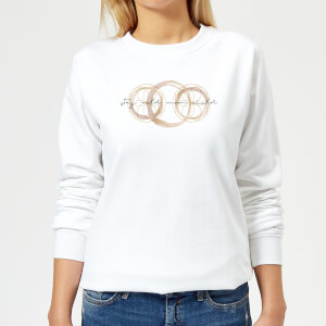 Stay Wild Moon Child Women's Sweatshirt - White