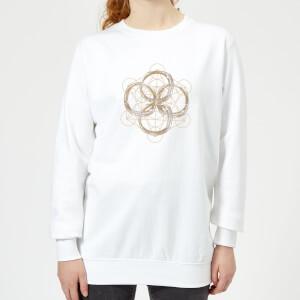 Child Of The Cosmos Women's Sweatshirt - White