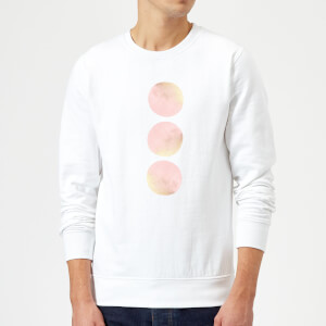 Three Moons Sweatshirt - White
