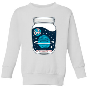 Space Jar Kids' Sweatshirt - White