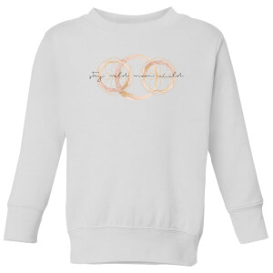 Stay Wild Moon Child Kids' Sweatshirt - White