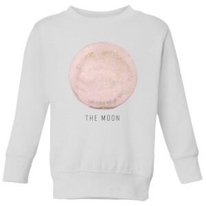 The Moon Kids' Sweatshirt - White