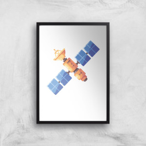 Satellite Art Print