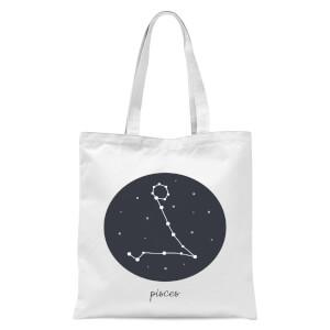 Pisces Tote Bag - White