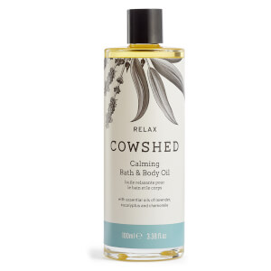 Cowshed RELAX Calming Bath & Body Oil 100ml