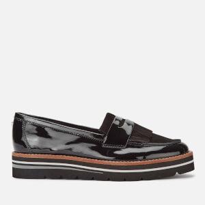 Dune Women's Gracella Patent Loafers - Black