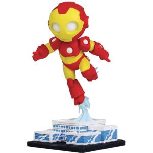 Gentle Giant Marvel Animated Mini-Heroes Iron Man PVC Statue - 7cm