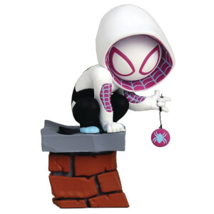 Gentle Giant Marvel Animated Mini-Heroes Spider-Gwen PVC Statue - 7.5cm