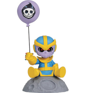 Gentle Giant Marvel Animated Mini-Heroes Thanos PVC Statue - 7.5cm