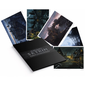 Elder Scrolls Lithograph - Set of 5 Prints