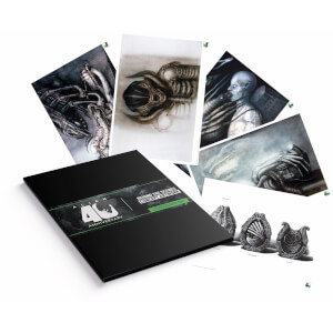 Set de Lithographies Alien