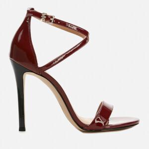 MICHAEL MICHAEL KORS Women's Antonia Leather Heeled Sandals - Brandy
