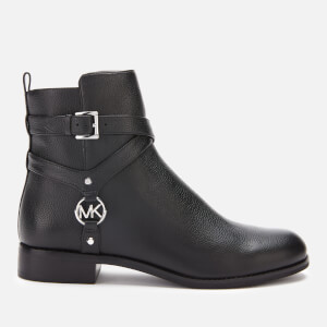 MICHAEL MICHAEL KORS Women's Preston Leather Heeled Boots - Black