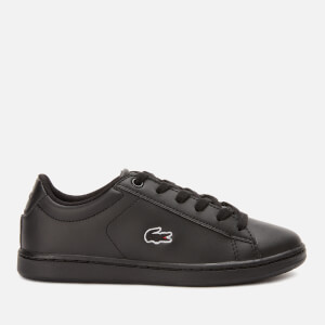 Lacoste Kids' Carnaby Evo Trainers - Black/Black