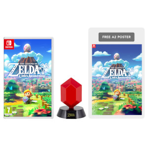 The Legend of Zelda: Link's Awakening + Red Rupee Lamp Pack