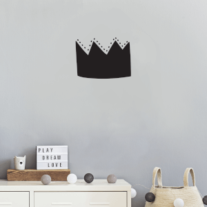 Crown Wall Art Vinyl