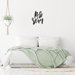 Rise And Slay Wall Decal