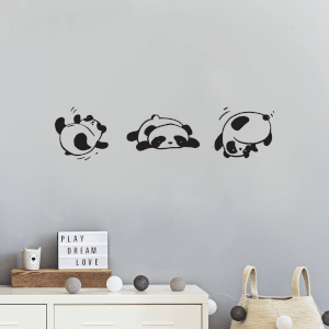 Panda Roll Wall Decal
