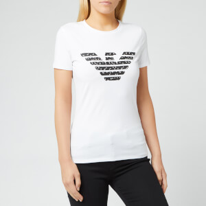 Emporio Armani Women's Eagle Logo T-Shirt - White