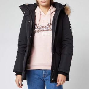 Superdry Women's Ashley Everest Parka - Black