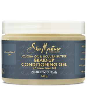 Shea Moisture Jojoba Oil & Ucuuba Butter Braid Up Conditioning Gel 340g: Image 1