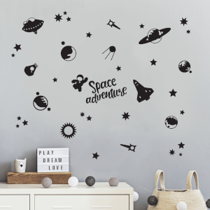 Space Adventures Decal Pack