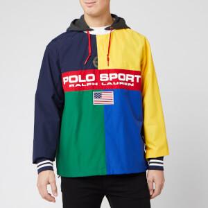 Polo Sport Ralph Lauren Men's Rugby Popover Shell Jacket - Multi