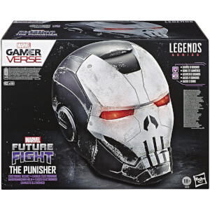 Riproduzione casco Punisher con armatura War Machine, Marvel Legends Gamerverse – Hasbro