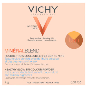 Vichy Mineralblend Tri-Colour Tan Powder 9g