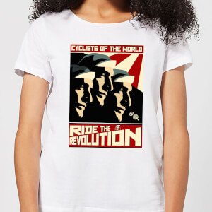 Mark Fairhurst Revolution Women's T-Shirt - White