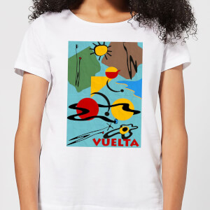 Mark Fairhurst Vuelta Miro Women's T-Shirt - White