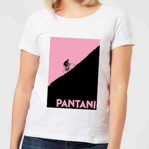 Mark Fairhurst Pantani Women's T-Shirt - White