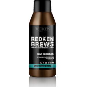 Redken Brew Mint Shampoo 50ml (Free Gift)