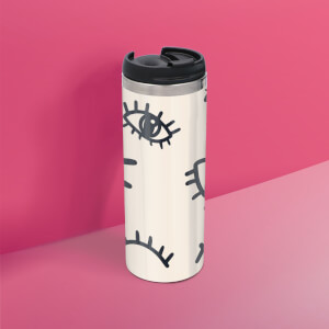 Eye Eye Stainless Steel Travel Mug