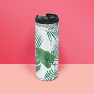 Botanical Print Stainless Steel Travel Mug