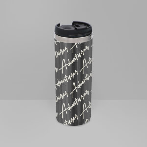Adventurer - Masculine Stainless Steel Travel Mug - Metallic Finish