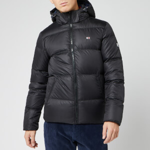 Tommy Jeans Men's Essential Down Jacket - Tommy Black