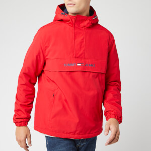 Tommy Jeans Men's Padded Popover Jacket - Formula One