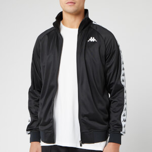 Kappa Men's Taped Track Jacket - Black/White