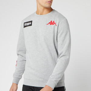 Kappa Men's Authentic La Bayza USA Sweatshirt - Grey Melange