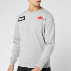 Kappa Men's Authentic La Bayza USA Sweatshirt - Grey Melange