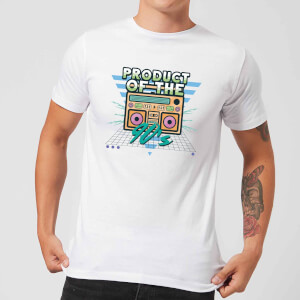 Product Of The 90's Boom Box Men's T-Shirt - White