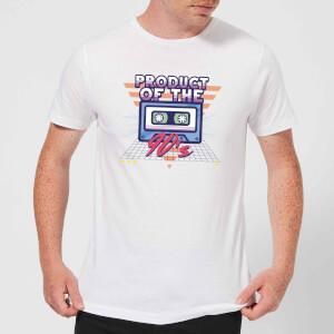 Product Of The 90's Cassette Tape Men's T-Shirt - White