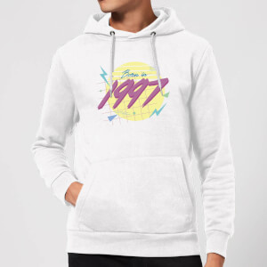 Born In 1997 Hoodie - White