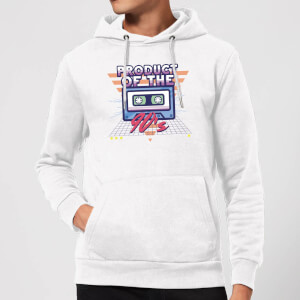 Product Of The 90's Cassette Tape Hoodie - White
