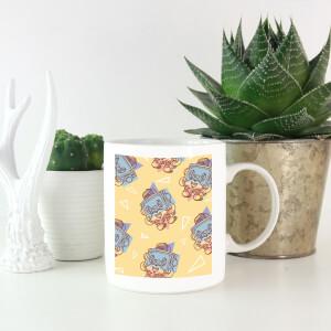 Cassette Tape Love Pattern Mug