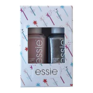 essie Fairy Chic Shimmer Nail Polish Duo Kit 2 x 13.5ml