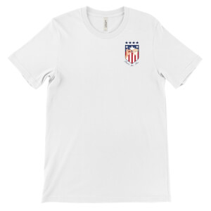 'That's the Tea' USA World Cup Pocket Badge T-Shirt - White