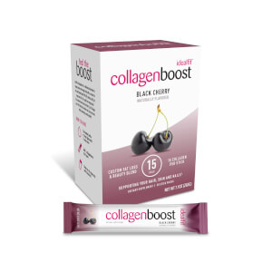 IdealFit Collagen Boost, Black Cherry, 30 Serving Box